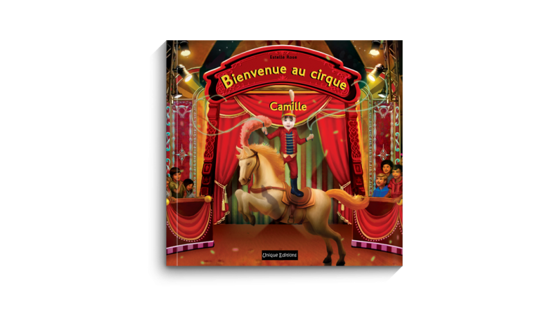 Bienvenue au Cirque- eBook